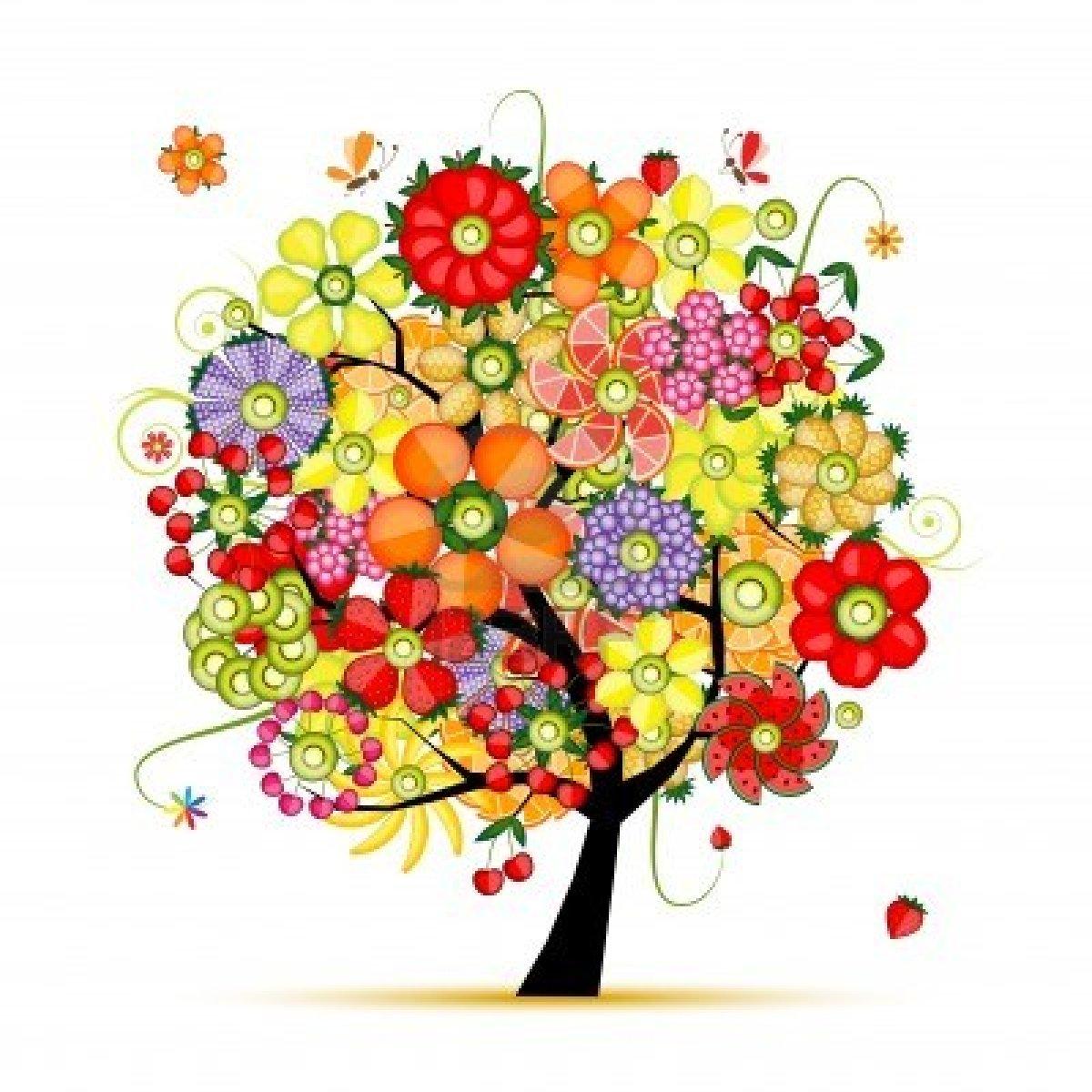 Marzo 2013 crecimiento creativo - Arbol de rosas ...